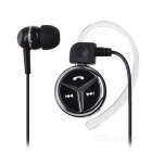 Universal Mini Wireless Ear-hook Stereo Bluetooth V4.1 Headset - Black