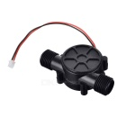 Mini DC 12V Hydroelectric Generator Faucet Induction Generator - Black