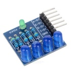4P LED Diode Blue Light PWM Dimming Module