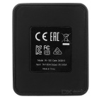 Magnetic USB Charger Charging Dock for LG G Watch R-W100 - Black