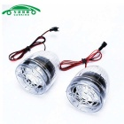 Motorcycle Anti-Theft Alarm w/ Dual Speakers - Translucent (2PCS)