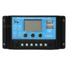 20A 12V/24V Solar Charge Controller with LCD Display Auto Regulator