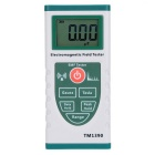 Professional Digital Gauss Electromagnetic Field Tester - Green