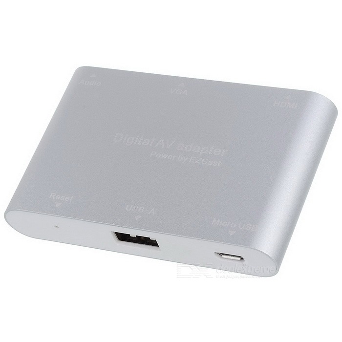 Adattatore AV digitale Audio HDMI Video Converter - Silver + White