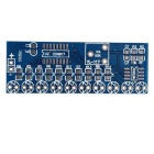 NE555+CD4017 Light Water Flowing Light LED Module DIY Kit - Dark Blue