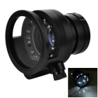 Multifunctional 10X 65mm LED Magnifier w/ Large Eyepiece - Black
