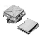 BRS-116 Portable Split Type Foldable Wood-burning Stove - Silver