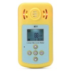 "KLX-801 2"" LCD Portable Carbon Monoxide Gas Detector - Yellow"