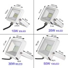 Uniting IP65 10W 20-2835 LED Cold White Flood Light (AC 100-240V)
