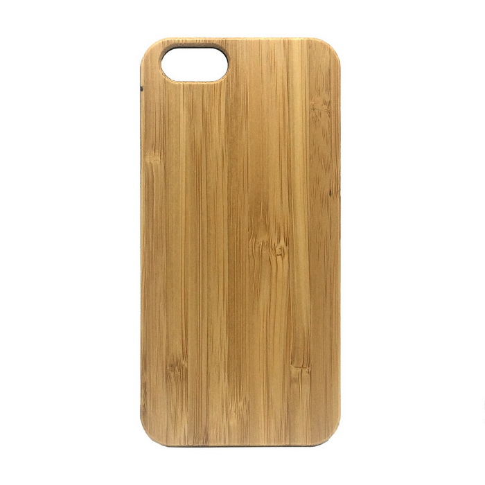 Wood + PC Back Case Cover for IPHONE 6 / 6S - Yellow