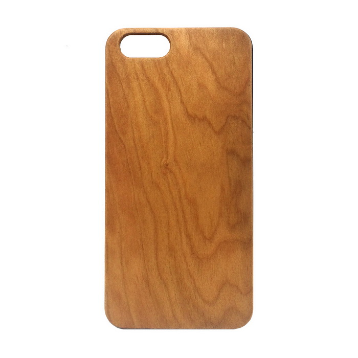 Wood + PC Back Case Cover for IPHONE 6 / 6S - Wood Color