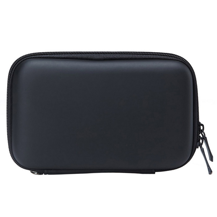 "Portable Protective EVA Zipper Case for 2.5"" HDD - Black"