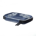 "Portable Protective EVA Zippered Case for 2.5"" HDD - Blue + Grey"