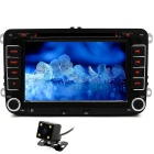 Buy 2 Din TFT LCD, FM / AM, Blutooth Handsfree Call, AVIN + Rear Camera Volkswagen, Jetta