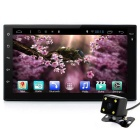"Junsun 7"" 2 Din HD Android Car DVD / GPS + Rear Camera - Grey + Black"