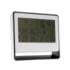 RF Receiving Weather Station Clock Digital Thermometer Hygrometer