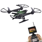 JXD 510G 5.8G FPV 4CH 6-Axis RC Quadrotor w / Câmera 2.0MP - Black