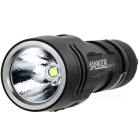 Manker U11 XP-L V5 1050LM 7-Mode linterna LED blanco cálido - Negro