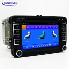 "Funrover LS001 7"" HD Android carro DVD Player com GPS, Bluetooth - preto"
