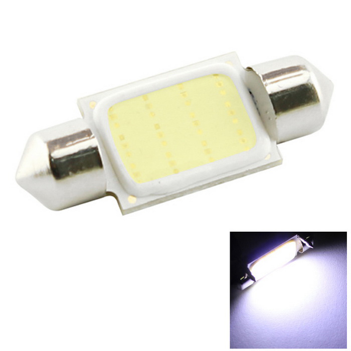 HONSCO Festoon 36mm 3W 200lm COB Cold White Car Light (DC 12V)