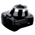 "A1000 mini CMOS 5.0MP 1080P 120 grados de gran angular 1.5"" coche DVR - negro"