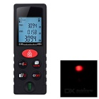 "1.65"" Handheld Laser Distance Rangefinder - Black + Red"