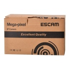 ESCAM Penguin QF521 CMOS 3.6mm Lens 720P IP Camera - White (EU Plug)