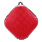 A9 Mini GPS Tracker Locator w/ Google Map / SOS Alarm for Car - Red