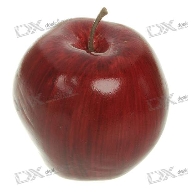 High Simulation Decoration Artificial Fruit Model - Red Delicious Apple