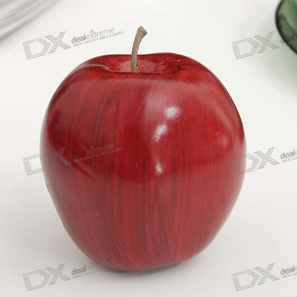 High simulation decoration artificial fruit model red for Artificial pears decoration
