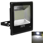 Jiawen 50W IP66 Cool White LED Floodlight - Black (AC 220V)