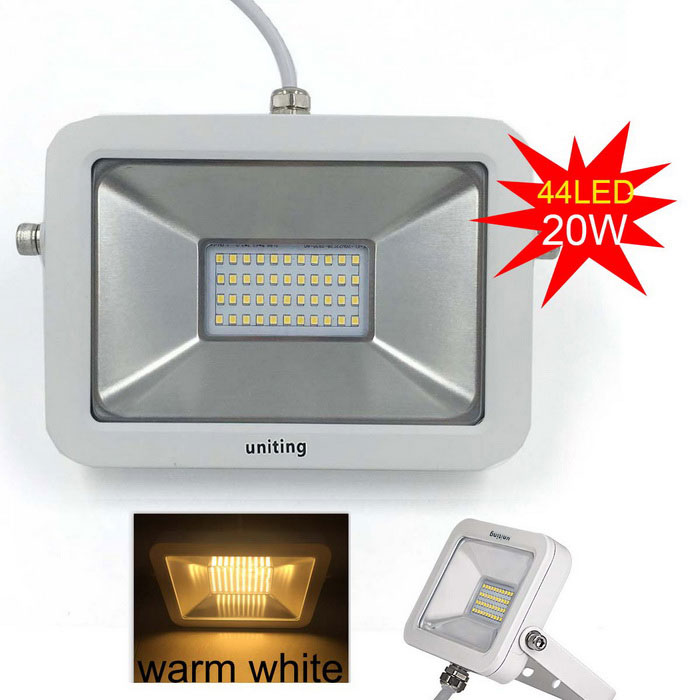 Uniting IP65 20W 44-2835 LED Warm White Flood Light (AC 100-240V)