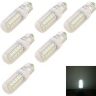 YouOKLight E27 4W LED Corn Bulb Lamps Cool White 36-SMD 5730 (6PCS)