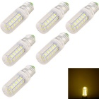 YouOKLight E27 4W LED del maíz del bulbo caliente 280lm blanco de 36 SMD 5730 (6PCS)