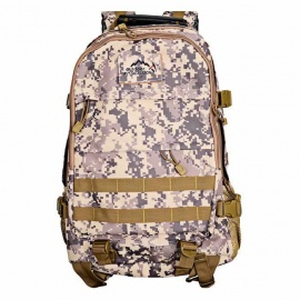 LOCAL LION Outdoor Sports Hiking Backpack - AT Camouflage (35L)