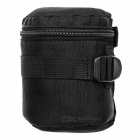 SLR Camera Lens Shockproof Protective Bag for Canon Nikon - Black