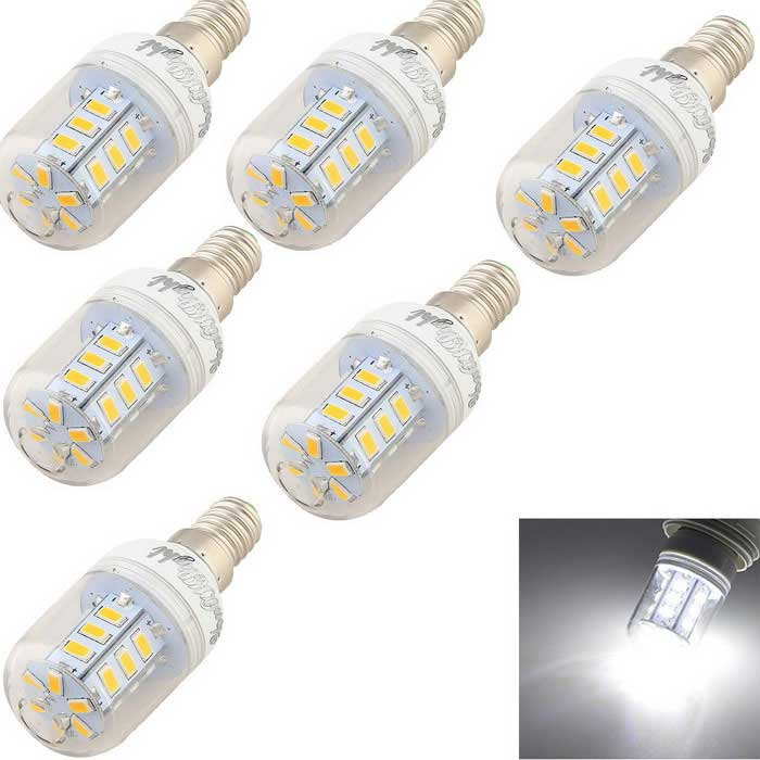 YouOKLight E14 2.5W LED Corn Bulb Cold White 150lm 24-SMD 5730 (6PCS)