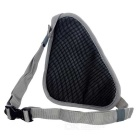 LOCAL LION Outdoor Sports Cycling Waist Pack Bag - Black+Grey (2L)