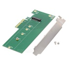 M.2 NGFF to PCI-ECARD 22110 Adapter Card - Green + Silver