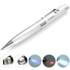 Maikou MK-559 32GB USB Flash Disk Laser Ball Pen - Silver