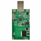 USB 3.0 MSATA to USB 3.0 SSD Adapter Card - Green