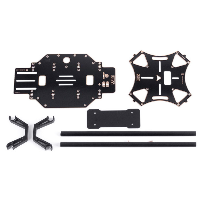 S500 PCB Frame Kit Landing Gear for FPV Gimbal F450 Upgrade - Black