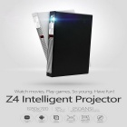 NETIZEN MP250Q 1080P Android 4.4.2 Wi-Fi doortrapt projector-Zwart + Zilver