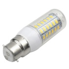 B22 5W 400lm 56-SMD 5730 LED Warm White Light Bulb (AC 220-240V)