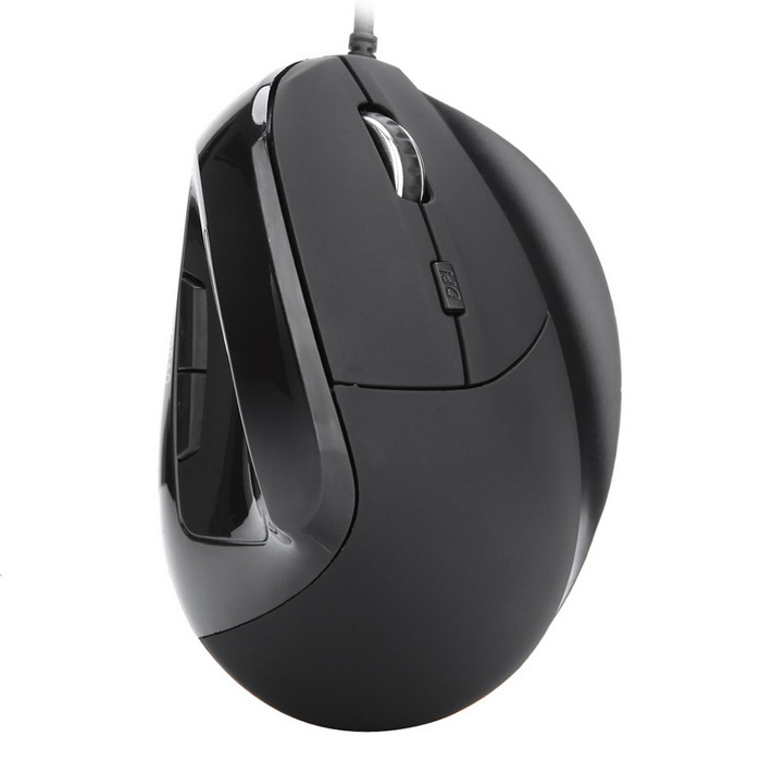 MODAO W30 6-Key USB Wired Vertical Mouse with Finger Support - BlackUSB Mouse<br>Form ColorBlackModelW30Quantity1 DX.PCM.Model.AttributeModel.UnitMaterialABSShade Of ColorBlackInterfaceUSB 2.0,USB 1.1Wireless or WiredWiredOptical TypeLEDResolution800-1600-2400-3200Weight Cartridge30GButton life8000000Bluetooth VersionNoPowered ByUSBBattery included or notNoSupports SystemWin xp,Win 2000,Win 2008,Win vista,Win7 32,Win7 64,Win8 32,Win8 64,MAC OS X,LinuxCable Length150 DX.PCM.Model.AttributeModel.UnitTypeErgonomicPacking List1 * USB wired vertical mouse<br>