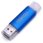 MaiKou Dual Port 16GB OTG USB 2.0 U Flash Disk - Azul