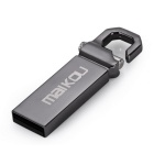 Maikou MK2204 32GB USB 2.0 Flash Tungsten Steel U Disk - Dark Grey