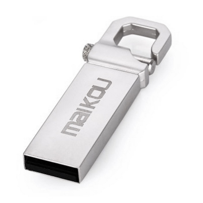 Maikou MK2204 USB 2.0 flash drive - cinza prateado (64GB)