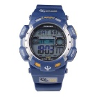 Pasnew PLG-1002D Outdoor Sports Waterproof Electronic Watch - Blue