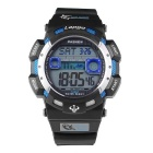 Pasnew PLG-1002D Outdoor Sport Waterproof Electronic Watch -Black+Blue